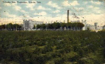 Nebraska State Penitentiary - Lincoln Postcard