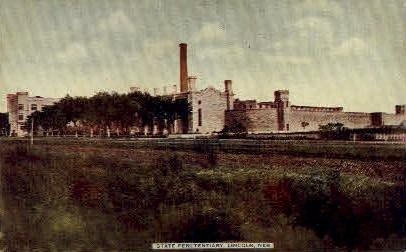 State Penitentiary - Lincoln, Nebraska NE Postcard