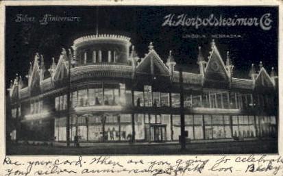 Silver Anniversary- H. Heroloskeimer - Lincoln, Nebraska NE Postcard