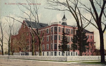 St. Elizabeth Hospital - Lincoln, Nebraska NE Postcard