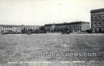 Real Photo - Nebraska University - Lincoln Postcard