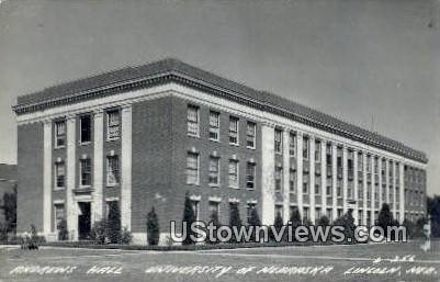 Real Photo - U of Nebraska - Lincoln Postcard
