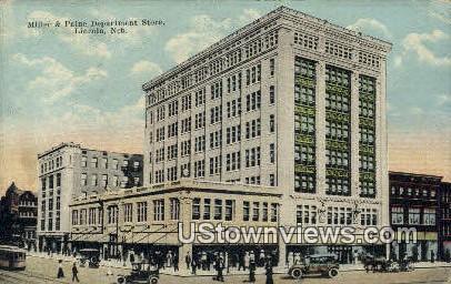 Miller & Paine Dept Store - Lincoln, Nebraska NE Postcard