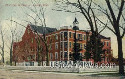 St Elizabeth Hospital - Lincoln, Nebraska NE Postcard