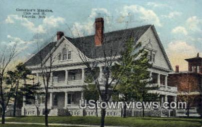 Governor's Mansion - Lincoln, Nebraska NE Postcard