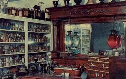 The Apothecary Shop- Pioneer Village - Minden, Nebraska NE Postcard