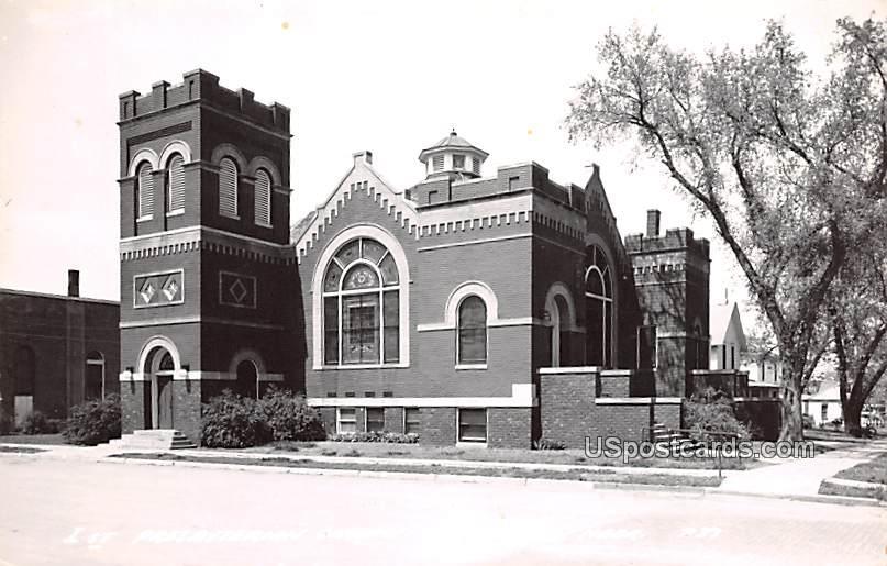 1st Presbyterian Church - Madison, Nebraska NE Postcard