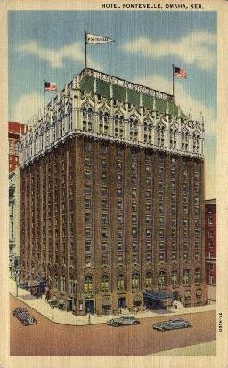 Hotel Fontenelle - Omaha, Nebraska NE Postcard
