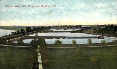 Omaha Water Co. - Nebraska NE Postcard