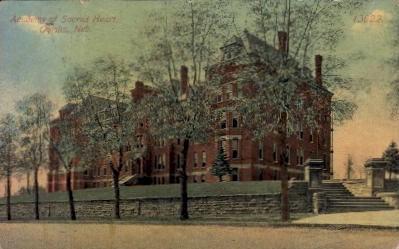 Academy of Sacred Heart - Omaha, Nebraska NE Postcard