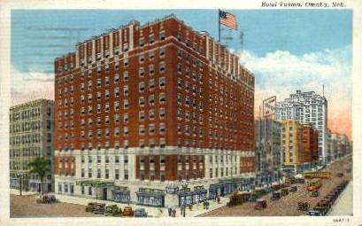 Hotel Paxton - Omaha, Nebraska NE Postcard