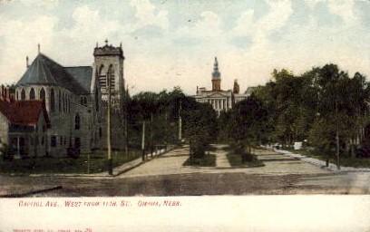 Capitol Avenue - Omaha, Nebraska NE Postcard