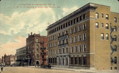 Y.M.C.A. Building - Omaha, Nebraska NE Postcard