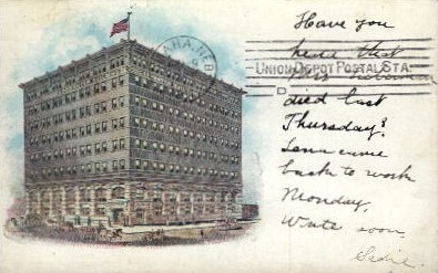 Carpenter Building - Omaha, Nebraska NE Postcard