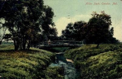 Miller Park - Omaha, Nebraska NE Postcard