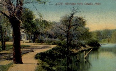 Riverview Park - Omaha, Nebraska NE Postcard