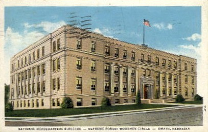 National Headquarters Building - Omaha, Nebraska NE Postcard