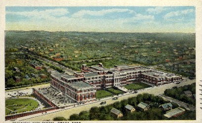 Technical High School - Omaha, Nebraska NE Postcard