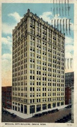 Medical Arts Building - Omaha, Nebraska NE Postcard