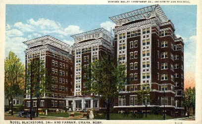 Bankers Realty Investment Co. - Omaha, Nebraska NE Postcard