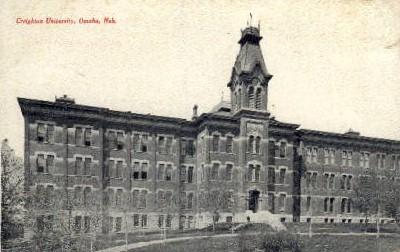Creighton University - Omaha, Nebraska NE Postcard