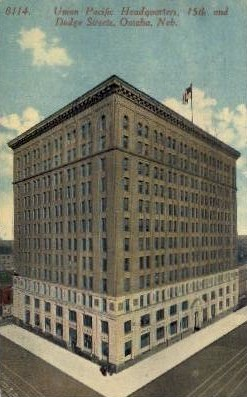 Union Pacific Headquarters - Omaha, Nebraska NE Postcard