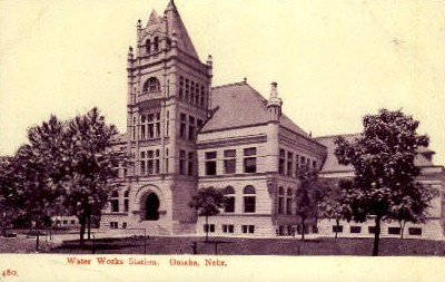 Water Works Station - Omaha, Nebraska NE Postcard