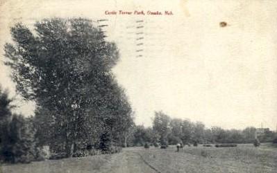 Curtis Turner Park - Omaha, Nebraska NE Postcard