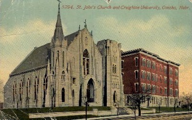 St. John's Church - Omaha, Nebraska NE Postcard
