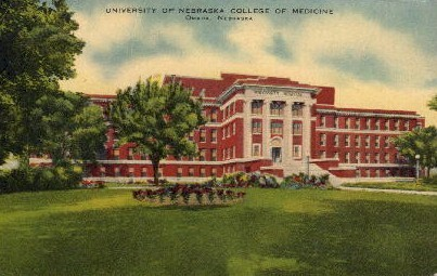 University of Nebraska - Omaha Postcard