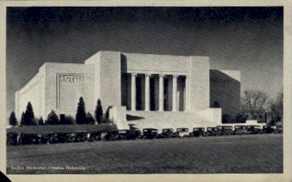 Joslyn Memorial - Omaha, Nebraska NE Postcard