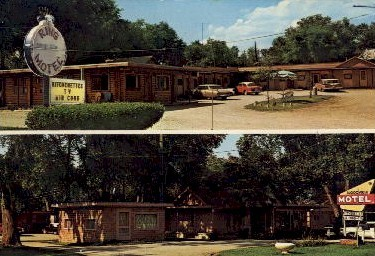 Ring Motel, Woodview Motel - Omaha, Nebraska NE Postcard