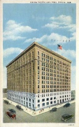 Union Pacific Building - Omaha, Nebraska NE Postcard