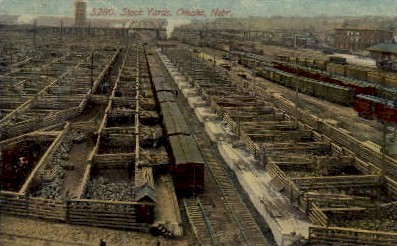 Stock Yards - Omaha, Nebraska NE Postcard