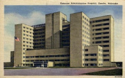 Veterans Administration Hospital - Omaha, Nebraska NE Postcard
