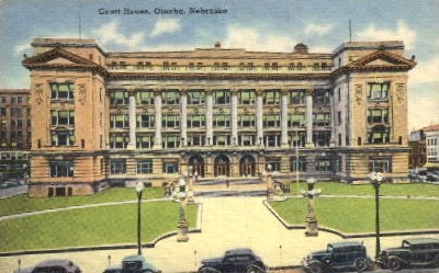 Court House - Omaha, Nebraska NE Postcard