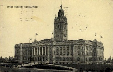 High School - Omaha, Nebraska NE Postcard