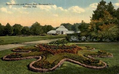 Hanscom Park - Omaha, Nebraska NE Postcard