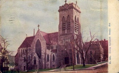 Trinity Cathedral - Omaha, Nebraska NE Postcard