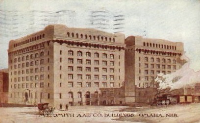 M.E. Smith and Co. Building - Omaha, Nebraska NE Postcard