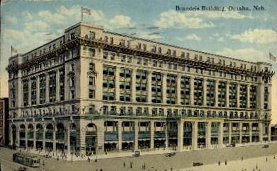 Brandeis Building - Omaha, Nebraska NE Postcard