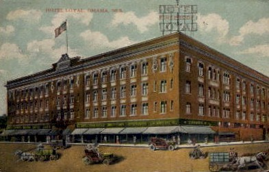 Hotel Loyal - Omaha, Nebraska NE Postcard