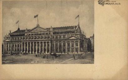 The Omaha Auditorium - Nebraska NE Postcard