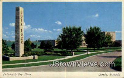 Boys Town - Omaha, Nebraska NE Postcard