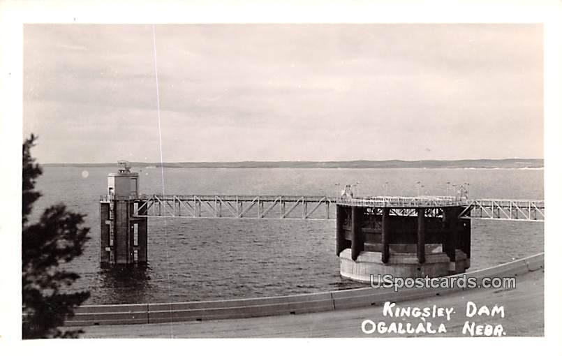 Kingsley Dam - Ogallala, Nebraska NE Postcard
