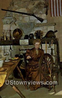 Spinning, Pioneer Village - Minden, Nebraska NE Postcard