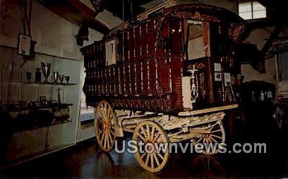 The Gypsy Wagon, Pioneer Village - Minden, Nebraska NE Postcard