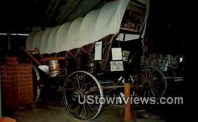 Conestoga Wagon, Pioneer Village - Minden, Nebraska NE Postcard