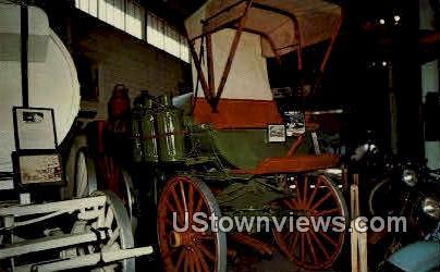 The Standard Oil Wagon - Minden, Nebraska NE Postcard