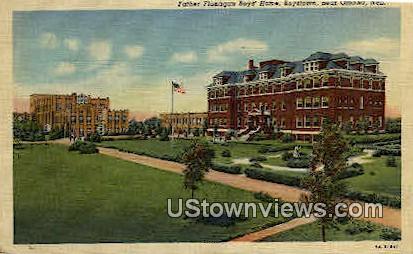Father Flanagan Boys Home - Boys Town, Nebraska NE Postcard